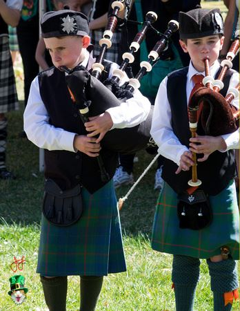 St. Patrick's Day 2 Boy Pipers