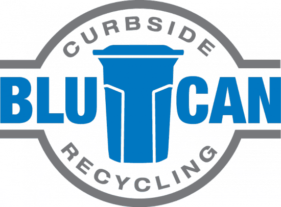 BluCan Curbside Recycling Logo