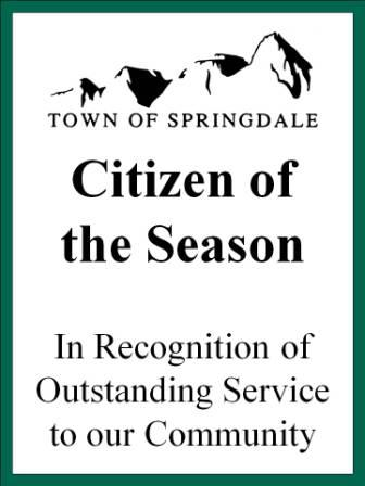 Citizen of the Season logo