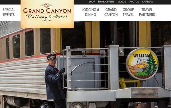 Two (2) night stay at the Grand Canyon Railway Hotel in Williams Arizona and roundtrip first class tickets for 2 people to the South Rim of the Grand Canyon. Approx. value $600.  Live Auction.   Start